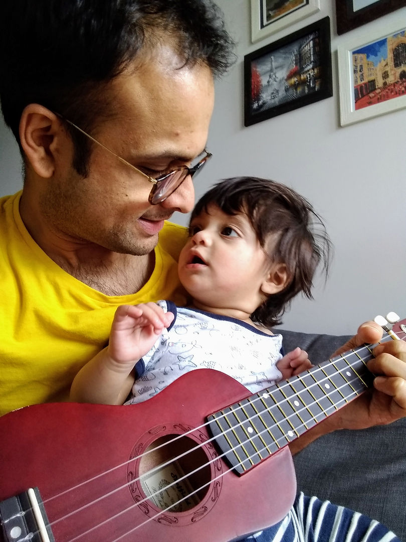 Edel and Adrian - Bring a baby Ukulele P