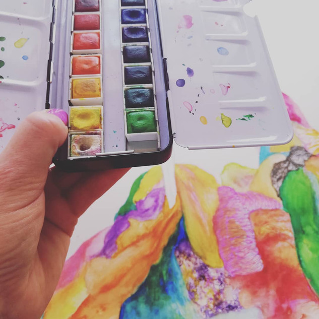 Artist Studio Materials
