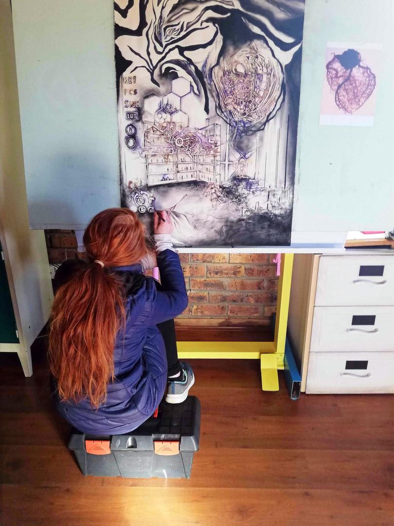 Jessica Michelle Le Roux Visual Artist