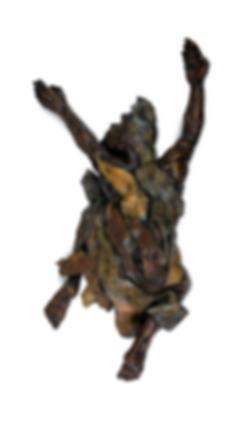 Jessica Michelle Le Roux, Listen, bronze, Ed. 1 of 14,17 X 27 X 72cm, 2018