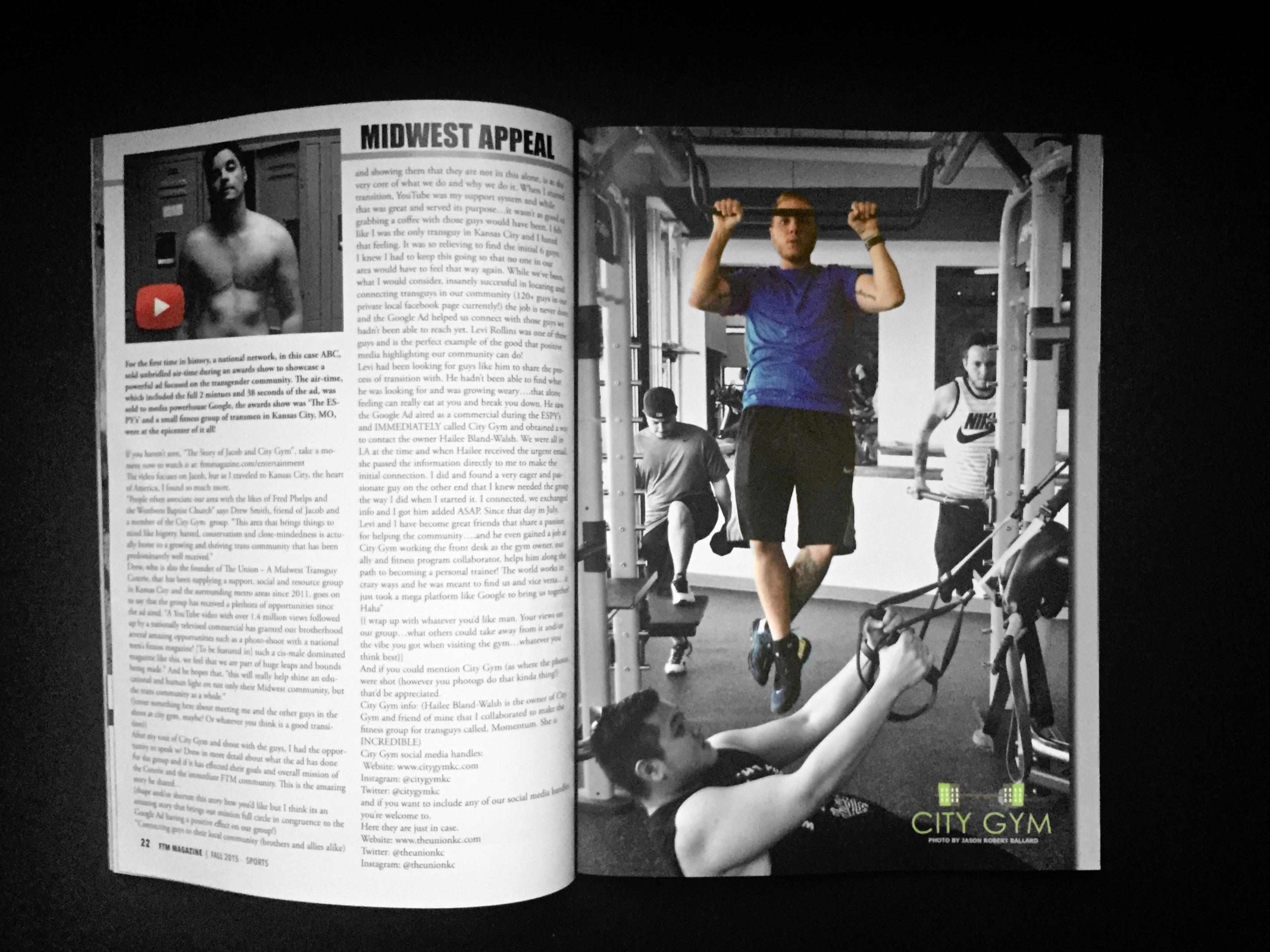 FTM Magazine '15