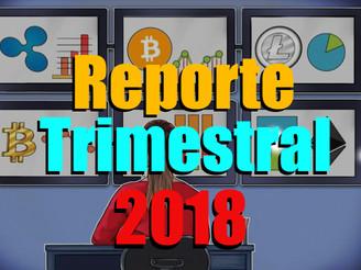 Reporte Trimestral, Mayo, Junio y Julio 2018.