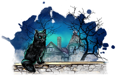 Black Cat Escape Room Virginia Beach Logo