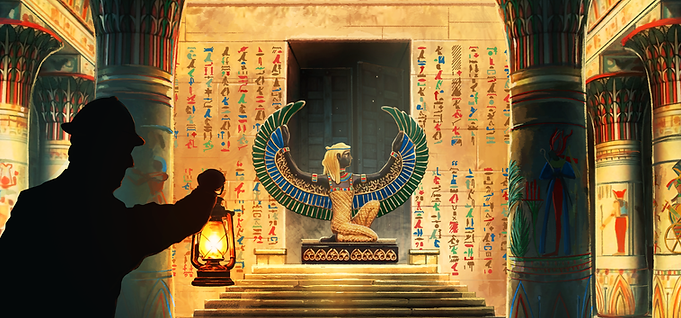The Trials of Isis Egypt Theme Escape Room Virginia Beach