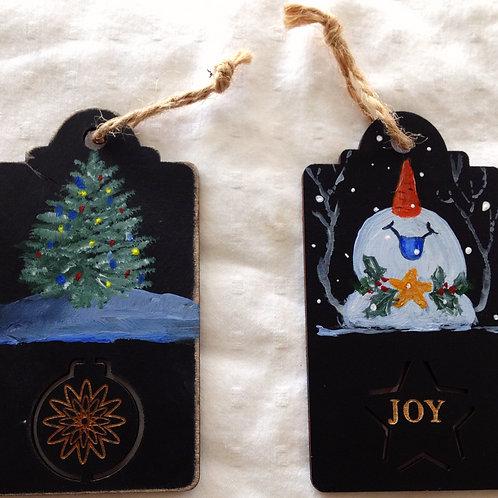 Christmas, Holiday Gift Tags, Ornaments