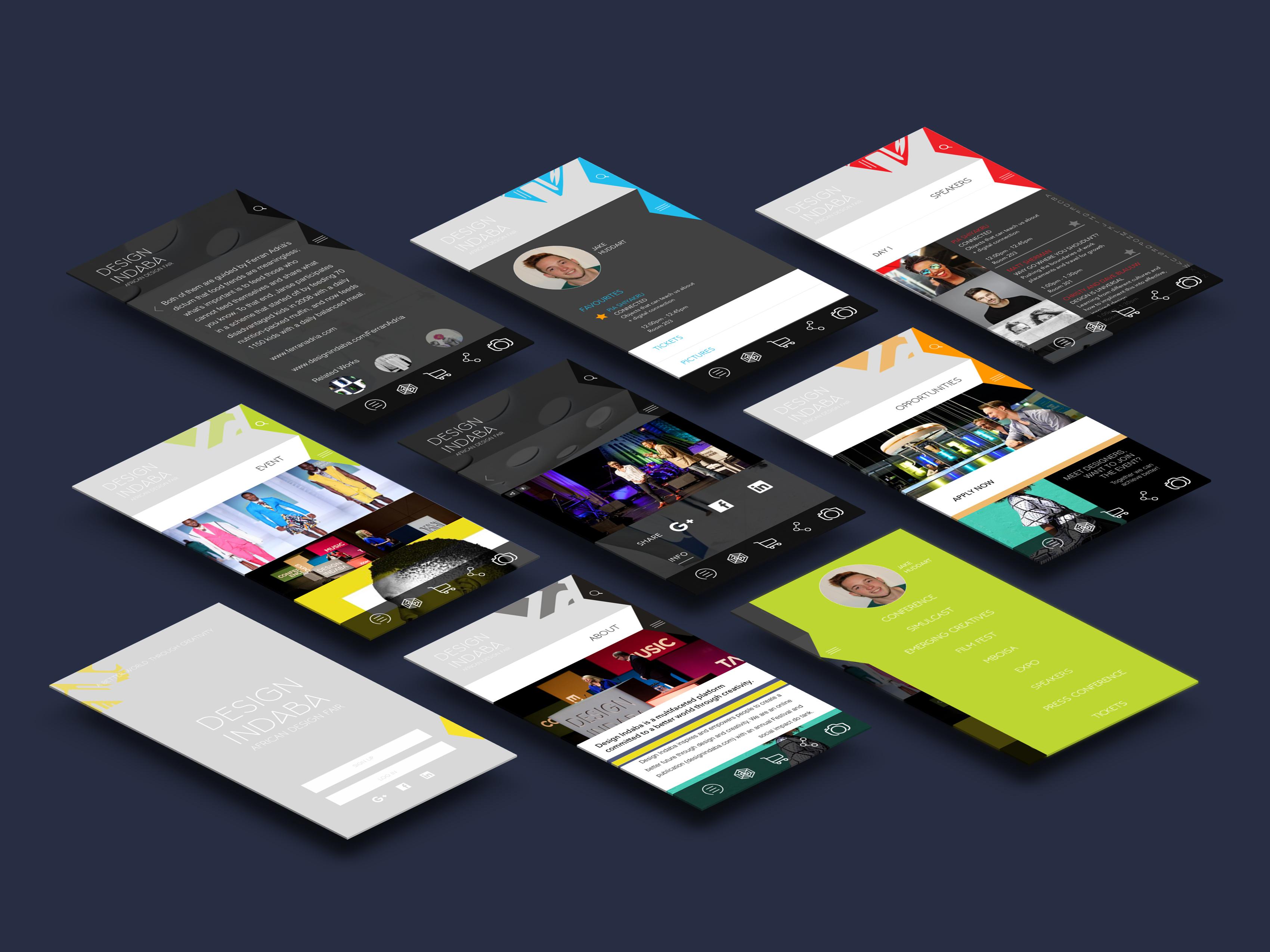 Design Indaba App Design