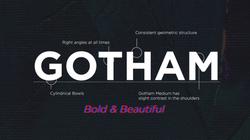 Gotham - Typography video