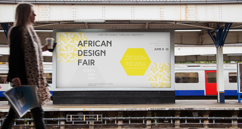 Design Indaba Train Station Poster