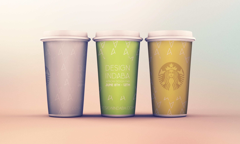 Design Indaba Starbucks Cups