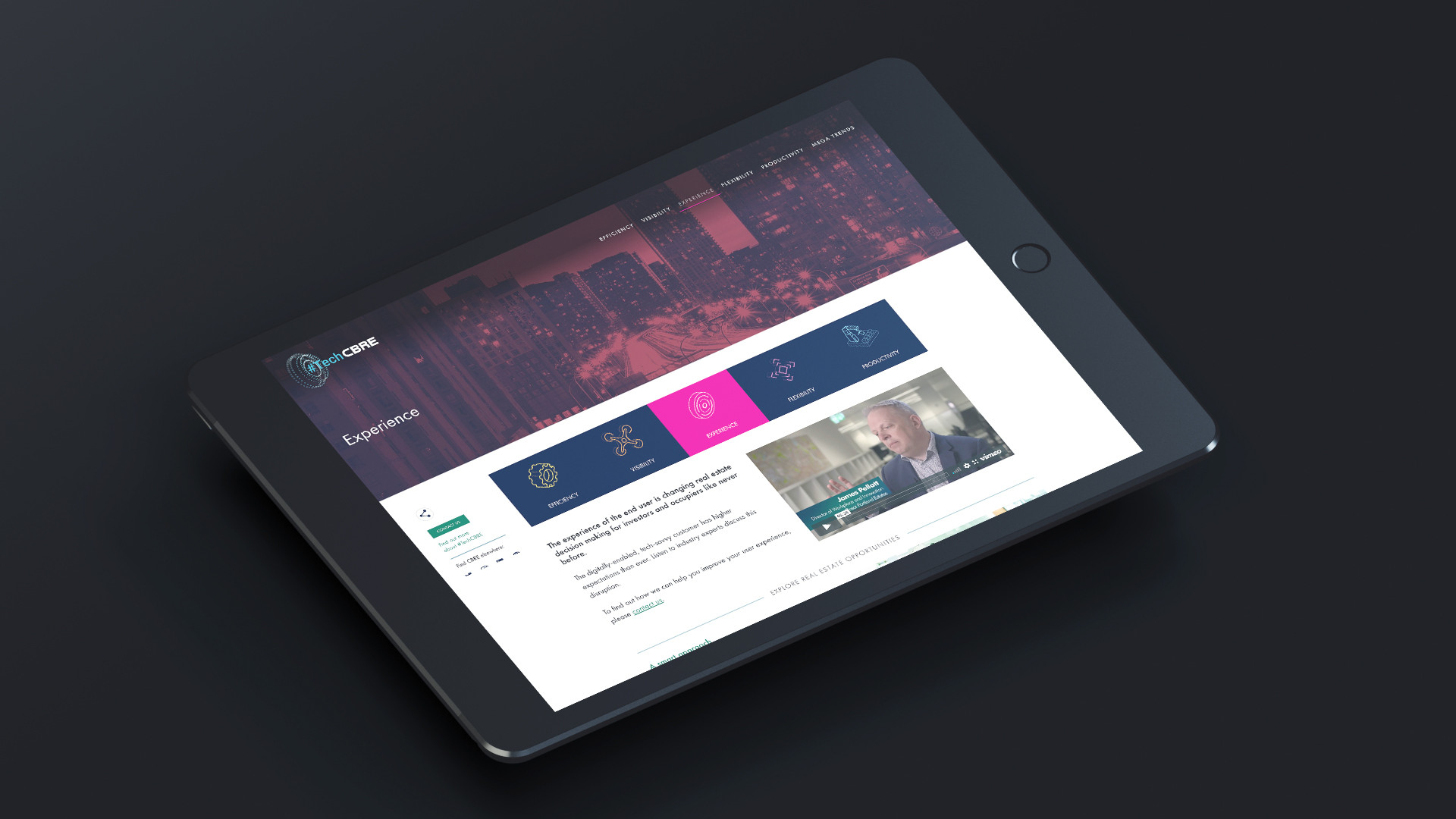 iPad responsive layout