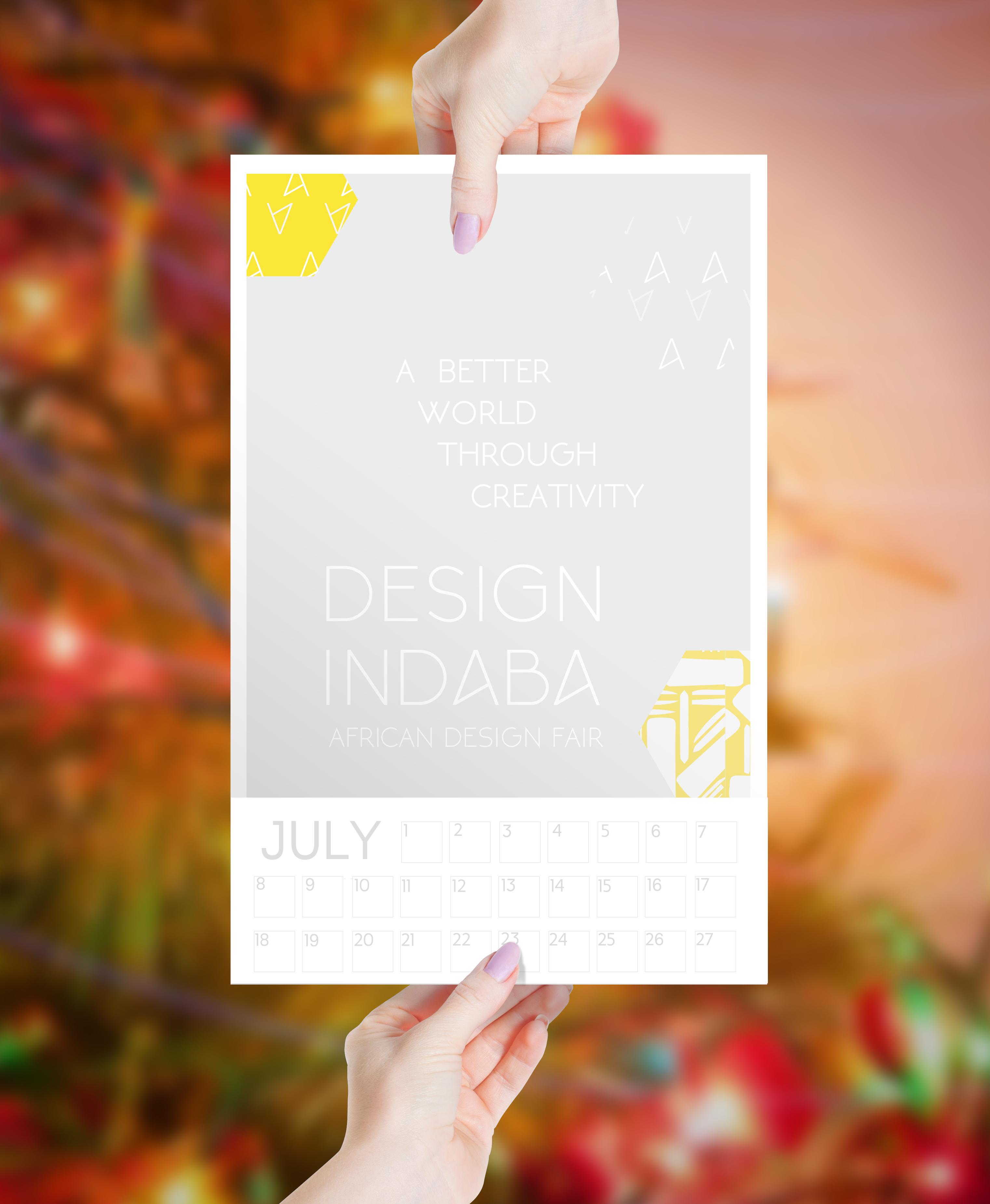 Design Indaba Post-event Calendar