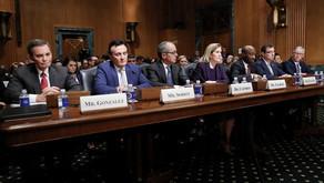Top Drug-Company Executives Gather at the Senate