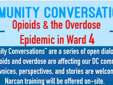 Community Conversations: Opioid Epidemic's Effect on DC