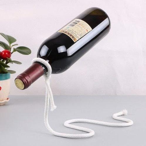 Metal Rope Design Wine Holder
