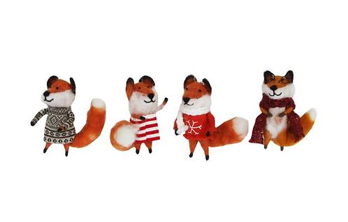 Wool Mix Dressed Fox