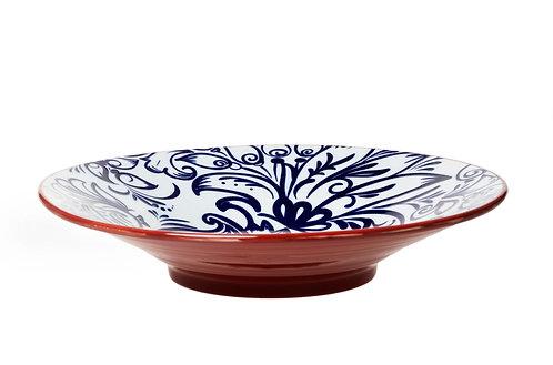 Mediterranean Patterned Bowl
