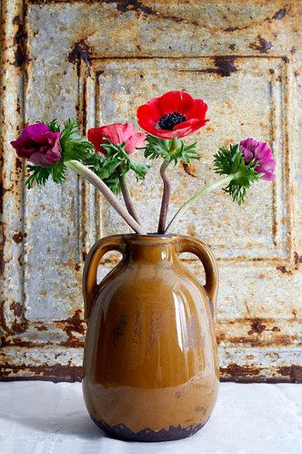 Mediterranean Ochre Vase