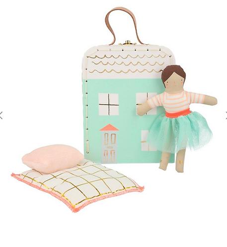 Mini Suitcase Doll