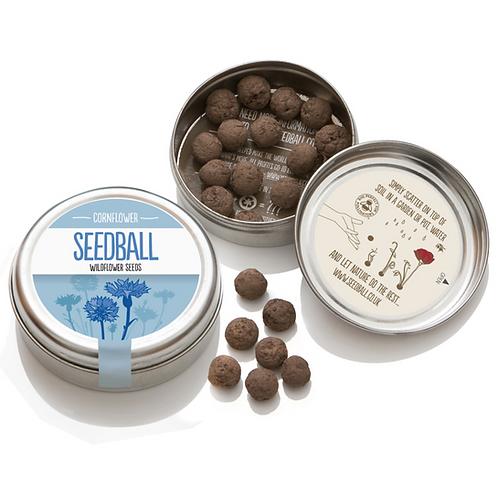 Seedball, Wildflower Mix of Cornflowers