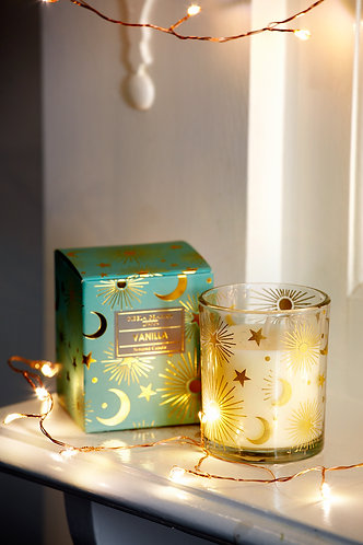 Celestial Boxed Candle