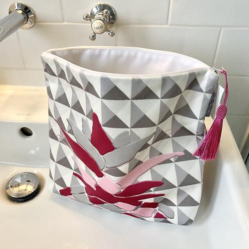 Luxury Velvet Wash Bag
