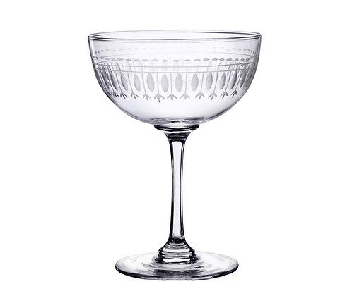 Champagne Coupe - Oval Design
