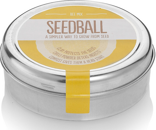Seedball, Wildflower Mix for Bees