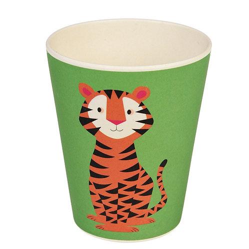 Bamboo Beaker - Tiger