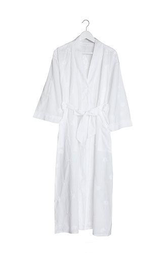 Kimono White with Embroidery