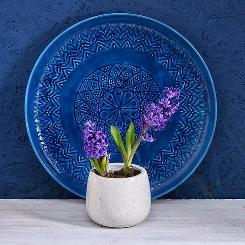 Crackle Glaze Ceramic Pot Small