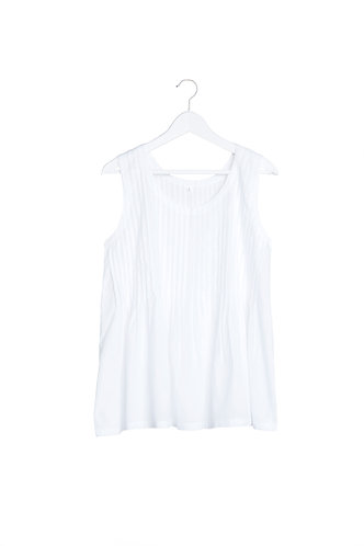 Cool Cotton Top - White