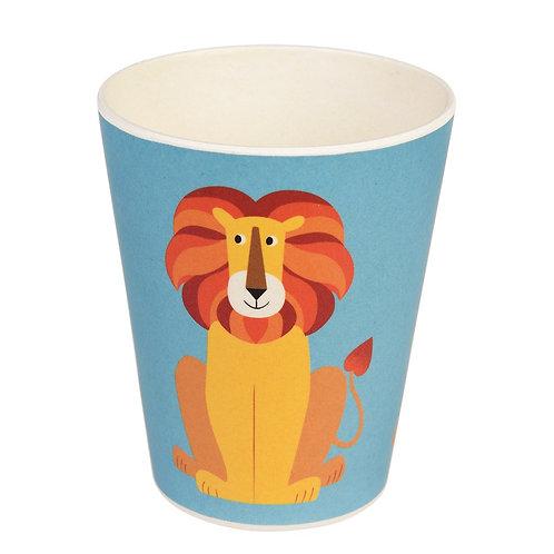 Bamboo Beaker - Lion