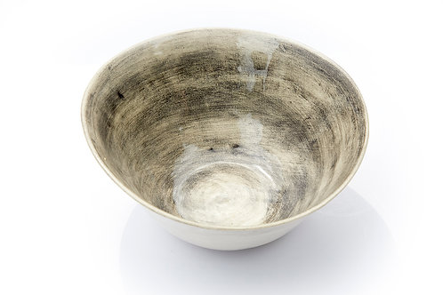 Deep Bowl, Charcoal Grey