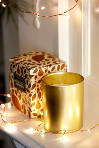 Partridge in a Pear Tree Boxed Candle