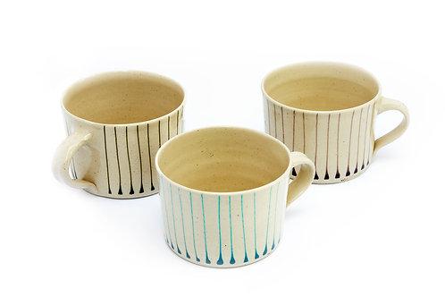 Squat Mug - Line