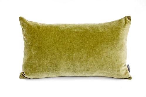 Moss Green Velvet Cushion