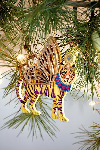 Fretwork Wood Tiger