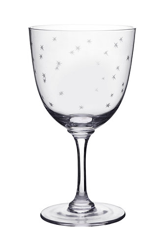 Wine Glass - Star Design