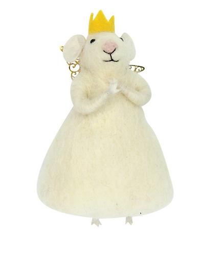 White Princess Mouse