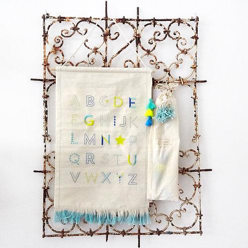 Alphabet Wall Hanging - Blue