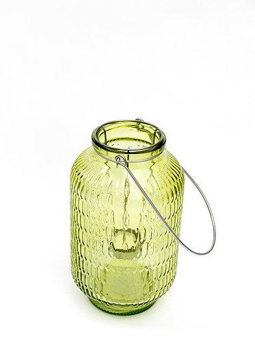 Green Honeycomb Tea Light Holder
