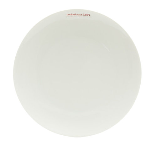 'Cooked With Love'  Side Plate