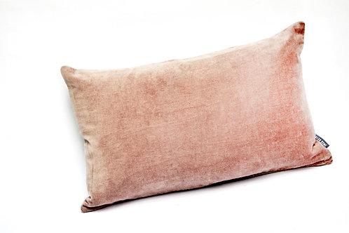 Blush Pink Small Velvet Cushion