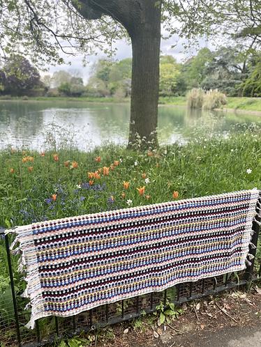 Multi-Coloured Spot Terry Bath Towel