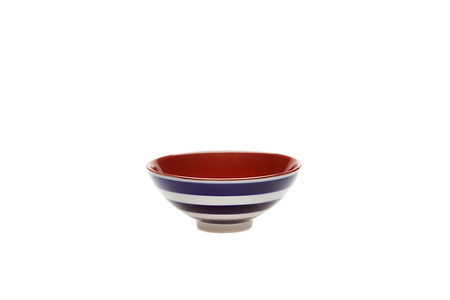 Blue and White Stripped Bowl - Small