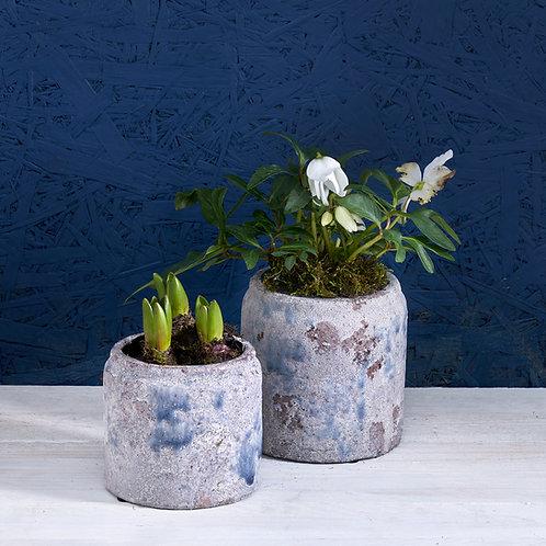 Glazed Ceramic Plant Pot Medium