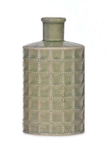 Sage Green Bottle Vase