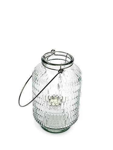 Clear Honeycomb Tea Light Holder
