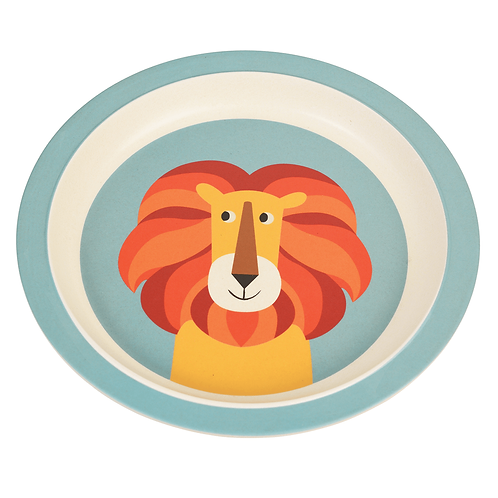 Bamboo Plate - Lion