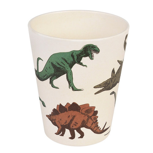 Bamboo Beaker - Dinosaur
